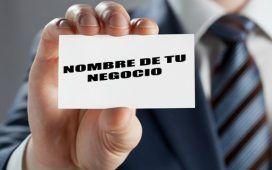 ideas para elegir el nombre de tu empresa