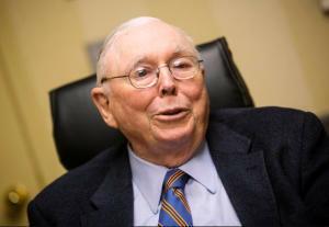 Charlie Munger, mano derecha de Warren Buffett y número 2 en Berkshire Hathaway