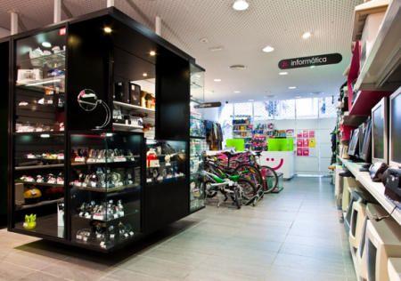 Interior de una tienda cash converter