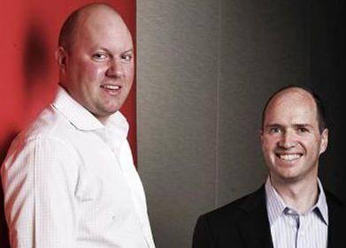 Marc Andreessen y Ben Horowitz de Andreeseen Horowitz