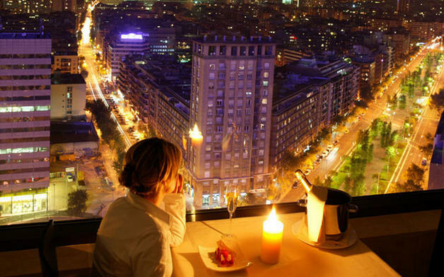 Restaurante lujo barcelona