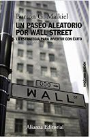 Libro de bolsa un paseo aleatorio por Wall Street