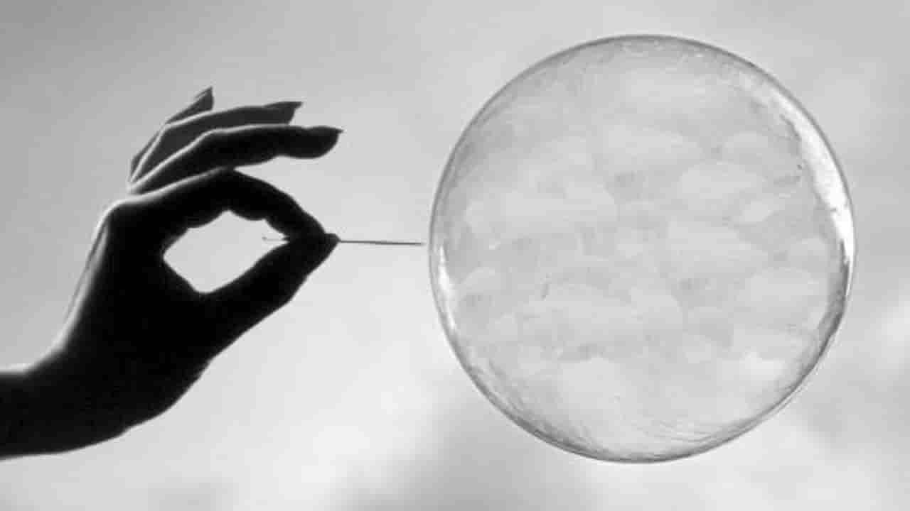 burbuja económica financiera