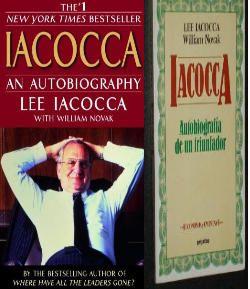 Iacocca, un libro recomendado para emprendedores y líderes