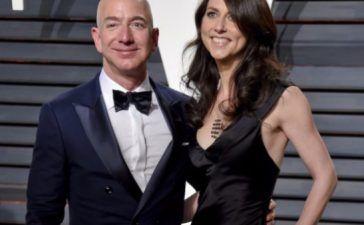 Jeff Bezos y su mujer Mackenzie