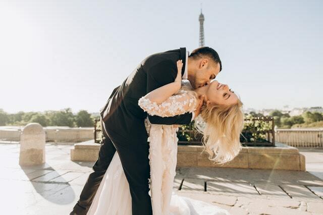 planificador de bodas, novio y novia