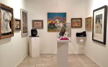 pequeño negocio de galería de arte