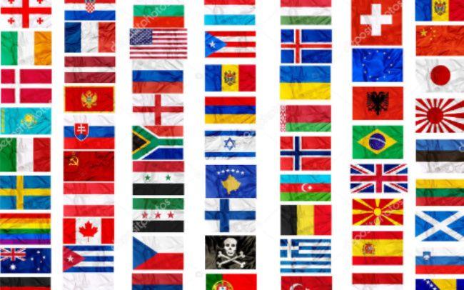 países del mundo banderas
