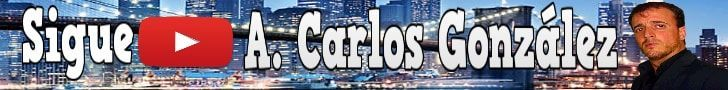 Canal de youtube A. Carlos González