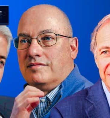 Bill Ackman, Steve Cohen y Ray Dalio gestores de hedge funds